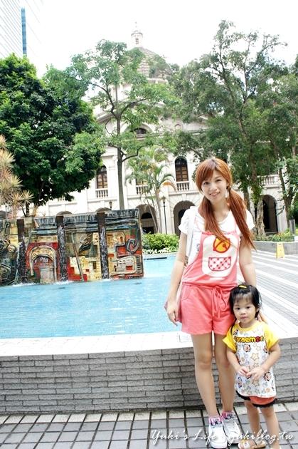 [2012夏‧香港]*中環‧皇后像廣場(Statue Square) & 立法會大樓