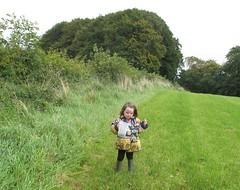 blackberry picking (NellyMoser) Tags: springhill martha clothkits cmwdgreen wellies pickingfruit threeyearsold