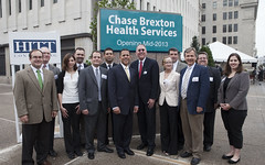 Chase Brexton Health Services groundbreaking