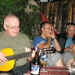 """Kazimierz works the guitar, Osman works the phone, and I don't know what I'm doing <a style=""""margin-left:10px; font-size:0.8em;"""" href=""""http://www.flickr.com/photos/59134591@N00/8062323947/"""" target=""""_blank"""">@flickr</a>"""