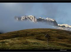 Majestic (bernd obervossbeck) Tags: italien italy cloud alps fog landscape weide nebel wolken kreuz alpen landschaft dolomites sdtirol southtyrol dolomiten landscapephotography alpinepasture landschaftsfotografie canoneos60d mygearandme mygearandmepremium