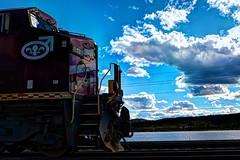 _MAD0242 (le Brooklands) Tags: engine13 fermont hdr lacmogridge locomotive montwright