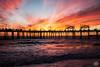 Redondo Beach Sunset (EMIV) Tags: ocean sunset beach canon pier los angeles mark ii 5d redondo 35l