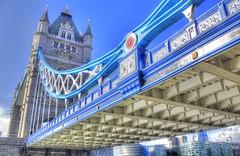Tower Bridge mal anders (Bergwelten.net) Tags: uk blue england london towerbridge unitedkingdom hdr