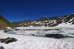 Lac des Vaux - Verbier (rubenjesmiatka) Tags: lake snow mountains alps switzerland verbier