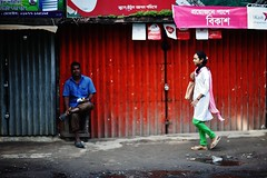 Collect Her (N A Y E E M) Tags: girl student college man candid morning colors street patiya chittagong bangladesh