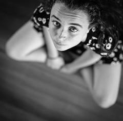 Shine (spannerino) Tags: handprocessed indoor ilfordlc29 mediumformat monochrome newzealand slr scanned vintage vintagecamera white window 120mm 120mmfilm 120mmcamera 120mmvintage bronica bronicasqa 150mm kodak400tx zenzanon blackandwhite depth girl portrait above dof 150mmlens zenzabronicasqa