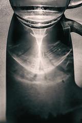 A Warm Day's Drink (pni) Tags: pint glass cold sunlight water refraction cinc helsinki helsingfors finland suomi pekkanikrus skrubu pni