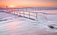 Newport Pool (renatonovi1) Tags: sunrise beach pool sea ocean water sun swell wave rock seascape landscape newport sydney nsw australia