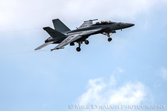 VFA-122 Fighting Eagles F/A-18F Super Hornet - 2016 Thunder Over Michigan Air Show (mikelynaugh) Tags: thunderovermichigan airshow tom2016 2016tom tom ypsilanti michigan mi airshowphotos photos photosof mikelynaugh lynaugh aviation yankeeairmuseum willowrunairport willowrun vfa122 fightingeagles westcoastsuperhornetdemoteam superhornetwest superhornet fa18 fa18f