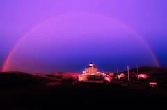 Les les-de-la-Madeleine, QC (MichelGurin) Tags: 20110615 leslesdelamadeleine arcciel coucherdesoleil rainbow sunset outside nikon nikond7000 nikkor nikkor1224mmf4gifed 1224mm