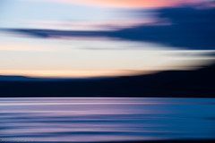 ghost rider (bluechameleon) Tags: icm sharonwish bluechameleon bluechameleonphotography clouds color colour intentionalcameramovement landscpae motion movement nature ocean summer twilight water sky