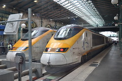 Eurostar 373006 & 373201 (Will Swain) Tags: paris gare du nord 4th july 2016 french capital city socit nationale des chemins de fer franais train trains rail railway railways transport travel vehicle vehicles europe france eurostar 373006 373201 class 373 3006 3005 3201