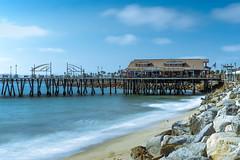Redondo Beach Pier (Truong Quan) Tags: california redondo beach landscape longexposure sunset water sky blue sony ocean pier clouds silky redondobeachpier redondobeach redondobeachca pacificocean boardwalk restaurantview californiabeaches sunnycalifornia sunny sunshine southbay westcoast