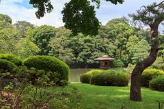 Lanterne (StephanExposE) Tags: japon japan tokyo rikugien parc jardin garden park eau water canon 600d 1635mm 1635mmf28liiusm arbre tree nature stephanexpose