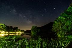 Abbott Lake [Explore!] (y0chang) Tags: milkyway stars pentax yunghanchang otter virginia brp peaksofotter blueridgeparkway blueridge k3