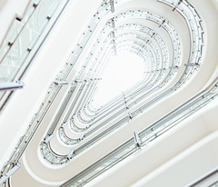 To Brightness. (If not NOW... when?) Tags: canon 5diii 5d3 staircase spiral germany hamburg architecture