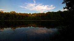 IMG_0056 Late Summer Sunset (oldimageshoppe) Tags: sunset warmcolors east shortslake crowdersmountainstatepark summer