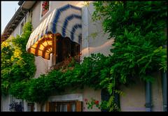 160709-9638-XM1.jpg (hopeless128) Tags: france eurotrip 2016 awning wall eveninglight verteuilsurcharente aquitainelimousinpoitoucharen aquitainelimousinpoitoucharentes fr