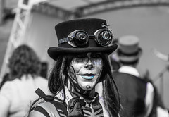 Lincoln Steam Punk Fair - Explored! (sharongellyroo) Tags: lincoln steampunkfair augustbankholiday lincolncastle inexplore
