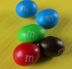 Macro Monday: Sweet Spot Squared (Hayseed52) Tags: sweetspots sweets candy color clarity sharpness yellow arrangement