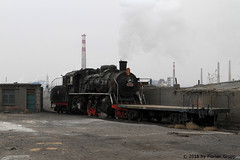 I_B_IMG_8219 (florian_grupp) Tags: asia china steam train railway railroad bayin lanzhou gansu desert landscape loess mountains sy ore mine 282 mikado steamlocomotive locomotive
