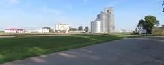 Manvel, North Dakota (courthouselover) Tags: northdakota nd landscapes grainelevators grandforkscounty manvel