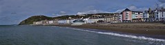 A long frontage (Sundornvic) Tags: sea front beach hill wales aberystwyth