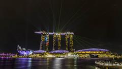 Marina Bay Sands Wonderful (alme 27) Tags: marinabaysands singapore pentax k5d sigmalens night