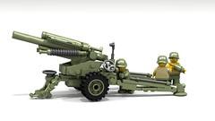 155 mm Boomstick (John Moffatt) Tags: gun atrillery howitzer army military