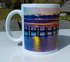 Custom coffee mug (Port Charlotte) (snizzle_) Tags: coffee mug port charlotte florida sublimation printed custom sunset sun sky dock ocean ceramic usa colorful white beautiful elegant scenic sunrise busyteeprinting nature outdoors love