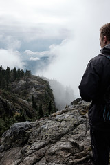 Contemplative (crgshpprd) Tags: tains seymour hike x100t pnw pnwwonderland grind first peak pump burn mist low visibility fresh cool crunchy 23mm classic chrome lightroom