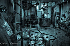 38 (munn1) Tags: 2016091216victoriavancouver beer vancouver canada britishcolumbia nikon d300 cyanotype lightroomcc photoshopcc nikor nik 1870 nikond300 microbrew grunge industrial week38theme