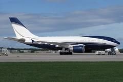 HZ-NSA Arabasco A310-304 at KCLE (GeorgeM757) Tags: hznsa arabasco saudiarabian a310304 vip aircraft airplane alltypesoftransport aviation airport airbus kcle clevelandhopkins georgem757