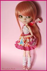 Meirin (Pullip My Melody) (Latsuln) Tags: pink cute doll sanrio wig groove pullip mymelody angelicpretty leeke junplanning rewigged tiphona