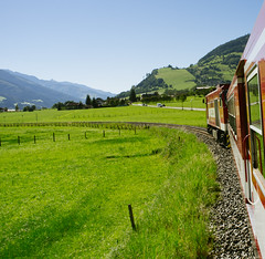 The Journey Home (Edwin van Nuil Photography) Tags: train vakantie dorf journey autria pinzgauerlokalbahn fujifinepixx100 fujinon23mmf2 vscofilm