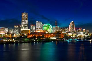 大桟橋からのみなとみらい / Yokohama Bayside Skyline