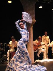 Esther Velez Flamenco Dancer 10 1 08 (Nancy D. Brown) Tags: spain seville flamenco flamencodancer spanishdancer elmuseodelbaileflamenco esthervlez