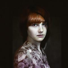 09 (fogsound) Tags: portrait selfportrait color digital self canon loseface 5dm2 xeniamelnik fogsound