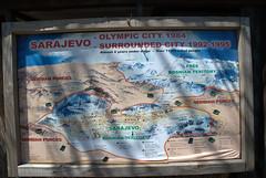 Old Sarajevo map