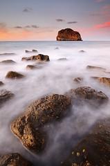 L (iban pagalday) Tags: mar nikon 09 reverse bizkaia euskalherria 2012 kosta cantabrico itsasoa kantauri aketx gnd nd8 d300s