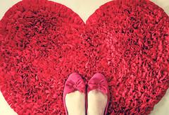 red ♥ (Natália Viana) Tags: red cute love shoes heart sweet natáliaviana