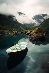 Bondhusvatnet (Youronas) Tags: lake nature norway landscape see natur skandinavien norwegen glacier mountainlake bergsee landschaft glacierlake skan gletschersee folgefonna folgefonn bondhusbreen bondhusvatnet
