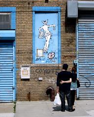 In Bushwick: Aiko (LoisInWonderland) Tags: nyc streetart brooklyn graffiti bushwick aiko ladyaiko