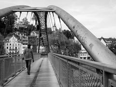 footbridge (alexander.ess) Tags: street city trip light portrait people blackandwhite bw black color night canon germany landscape photography photo nikon raw photos sony moment streettog