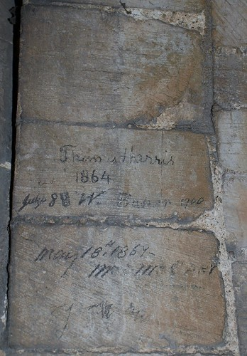 Canterbury Cathedral - Old scribbling