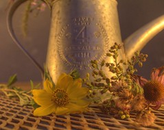 Candle Light Arrangement (2sheldn) Tags: flower pitcher hdr candle light night sheldn canon t2i 550d sheldnart copyrightdanielsheldon allrightsreserved wi wisconsin copyright sheldon danieljsheldon rebel eos 550 license danielsheldon