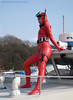 Wetsuited beauty [RED]011 (mixnuts club) Tags: fetish bondage rubber spy diver wetsuits secretagent frogwoman