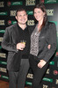 Eoin Murphy and Melanie Finn at the Jameson Launch Party for the Hot Press Yearbook 2012 at The Workman's Club,Dublin..Picture Brian McEvoy