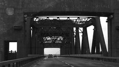Kincardine Bridge, wet day 02 (byronv2) Tags: bridge blackandwhite bw monochrome rain river blackwhite forth kincardine firthofforth riverforth kincardinebridge rnbforth